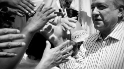 Perciben mexicanos un mejor presidente en AMLO según estudio
