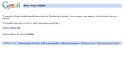 Se cae Gmail